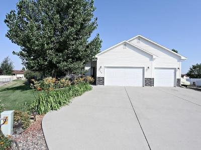 Billings MT Single Family Home Contingency: $282,000