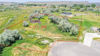 Billings Residential Lots & Land For Sale: 6541 Chimney Rock Drive