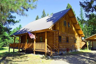 Single Family Home For Sale: 305 Glacier Dr, Seeley Lake