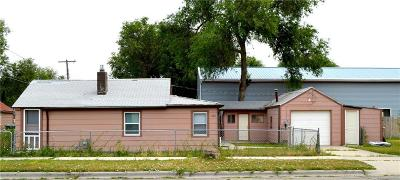 Billings MT Single Family Home For Sale: $63,500