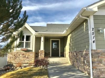 Billings MT Single Family Home For Sale: $335,000