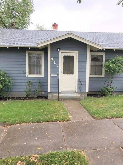 Single Family Home For Sale: 417 4th Street West