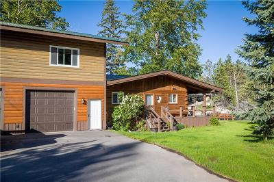 Single Family Home For Sale: 20 Rivers End, Bigfork
