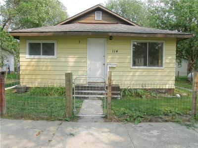 Single Family Home For Sale: 114 6th Street West
