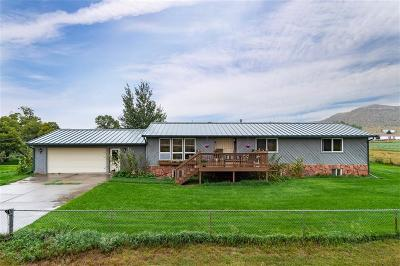 Billings Single Family Home For Sale: 4912 Pryor Road