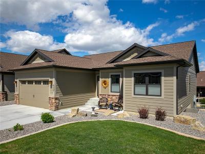 Billings Condo/Townhouse For Sale: 6337 Ridge Stone Drive S