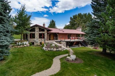 Red Lodge Single Family Home For Sale: 3 Lower Wapiti Valley