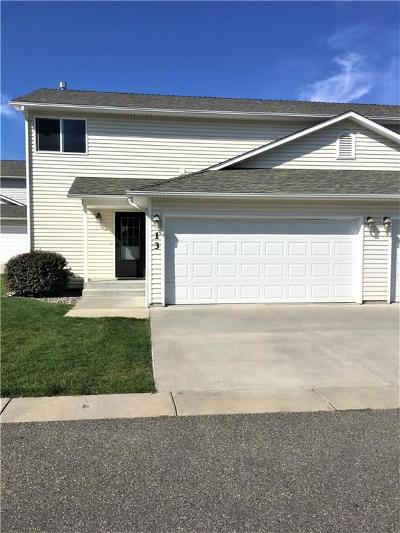 Billings MT Condo/Townhouse For Sale: $197,000