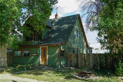 Fromberg Single Family Home For Sale: 11 N Montana Avenue