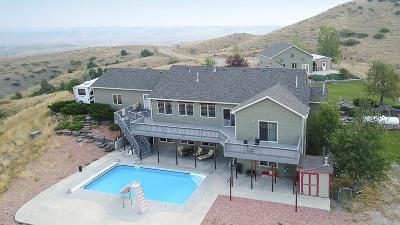 Billings Single Family Home For Sale: 2675 Sage Mountain Road