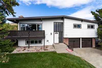 Billings Single Family Home For Sale: 3327 Rimrock Road