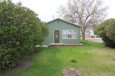 Hardin MT Single Family Home For Sale: $88,900