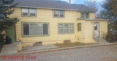 Billings MT Single Family Home For Sale: $199,999