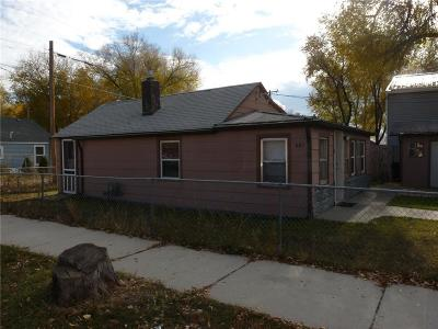 Billings Single Family Home For Sale: 601 S 33rd Street