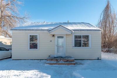 Billings Single Family Home For Sale: 14 Berg Avenue