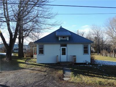 Reed Point MT Single Family Home For Sale: $63,000