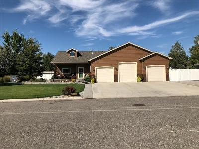 Columbus MT Single Family Home For Sale: $385,000