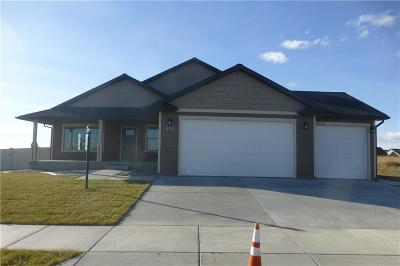 Billings MT Single Family Home For Sale: $316,500