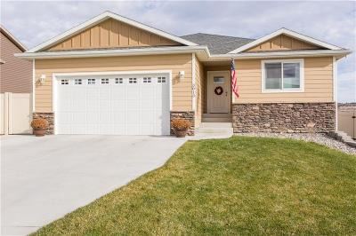Billings Single Family Home For Sale: 3013 Western Bluffs Blvd