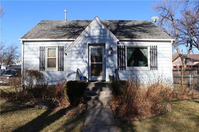 Billings MT Single Family Home For Sale: $180,000
