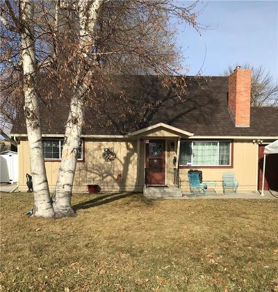 Billings MT Single Family Home For Sale: $199,900