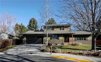 Billings Single Family Home For Sale: 1961 Pryor Lane