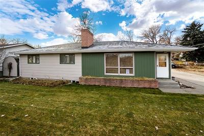Billings Single Family Home For Sale: 1326 Rosebud Lane