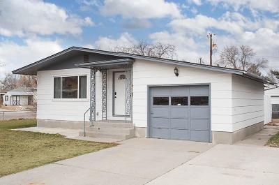Billings MT Single Family Home For Sale: $190,000