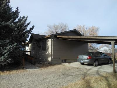 Yellowstone County Single Family Home Contingency: 1613 Wicks Ln