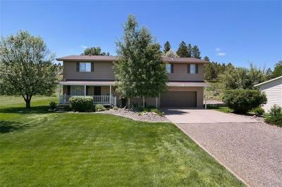 Yellowstone County Single Family Home Contingency: 1568 Foothill Drive