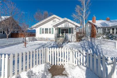 Yellowstone County Single Family Home Contingency: 439 Clark Avenue