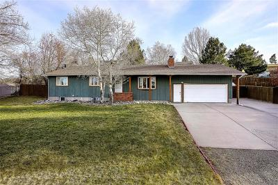 Yellowstone County Single Family Home Contingency: 66 Crestline Drive