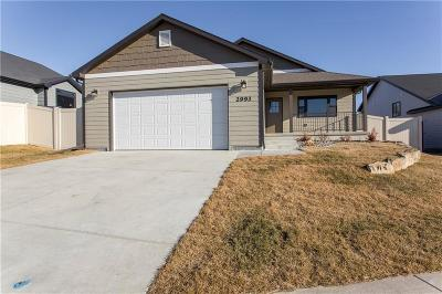 Billings Single Family Home For Sale: 2993 W Copper Ridge Loop