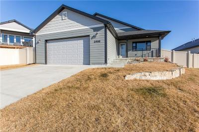 Yellowstone County Single Family Home For Sale: 2995 W Copper Ridge Loop