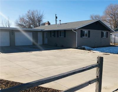 Yellowstone County Single Family Home Contingency: 3120 Monad Road