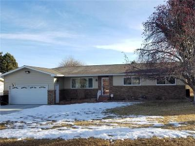 Yellowstone County Single Family Home For Sale: 721 Shamrock Lane