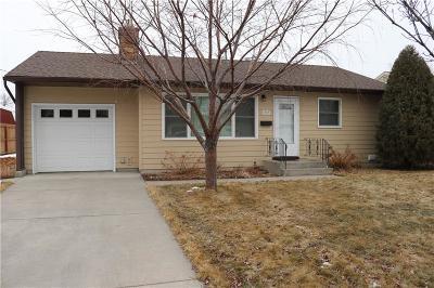 Yellowstone County Single Family Home For Sale: 1303 Eldorado Drive