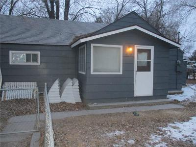 Billings MT Single Family Home For Sale: $85,000