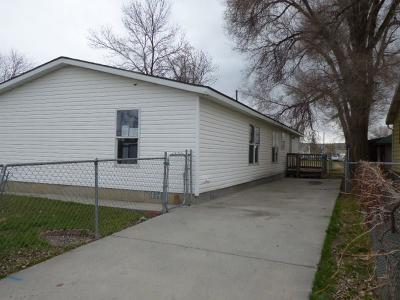 Billings MT Single Family Home For Sale: $110,000