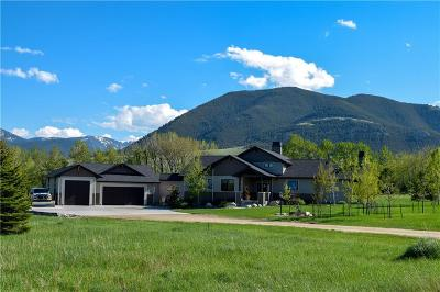 Red Lodge MT Single Family Home For Sale: $1,199,000