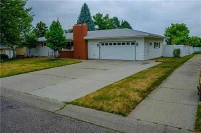 Billings Single Family Home Contingency: 939 Aronson Drive