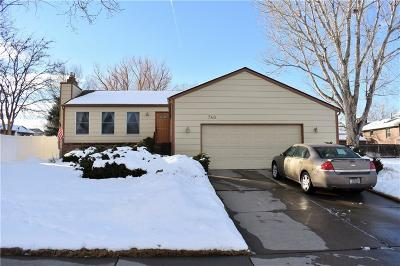 Billings Single Family Home Contingency: 740 Topaz Ave.