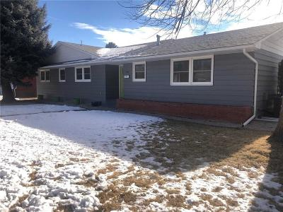 Billings Single Family Home Contingency: 1544 Parkhill Drive