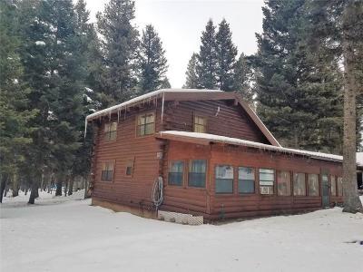 Single Family Home For Sale: 196 Moose Lane, Seeley Lake