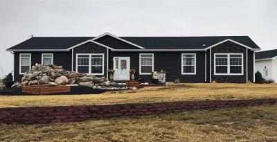 Fallon County, Roosevelt County, Wibaux County Single Family Home For Sale: 13 Lake View Dr