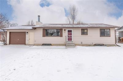 Billings Single Family Home Contingency: 3672 Spartan Circle