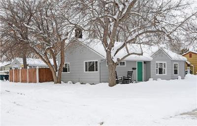 Yellowstone County Single Family Home Contingency: 2214 Maple Street