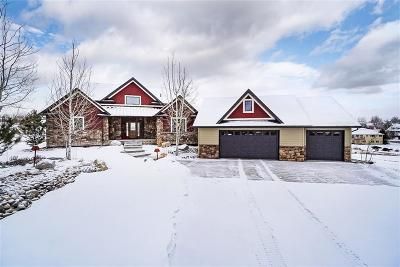 Billings Single Family Home For Sale: 2615 Castle Pines Drive