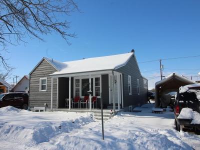 Single Family Home For Sale: 612 N Choteau Avenue