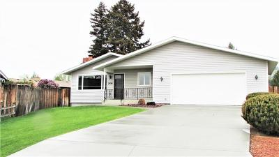 Billings Single Family Home Contingency: 2496 Nikki Place